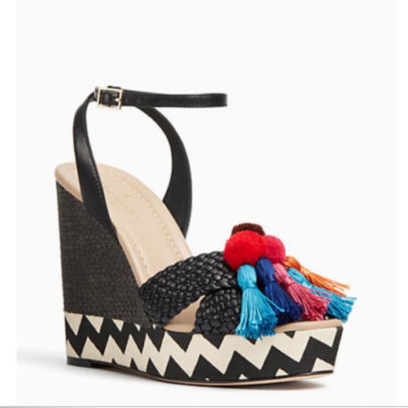 521d4843acb69d Kate Spade Women s Delancey Wedge Sandal